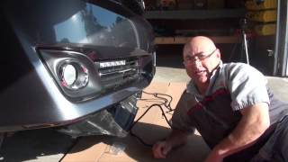 2012-2014 Toyota Camry – LED Daytime Running Light Kit Preview(, 2014-02-06T21:56:21.000Z)