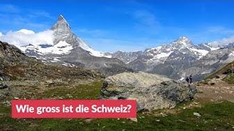 Wie gross ist die Schweiz?