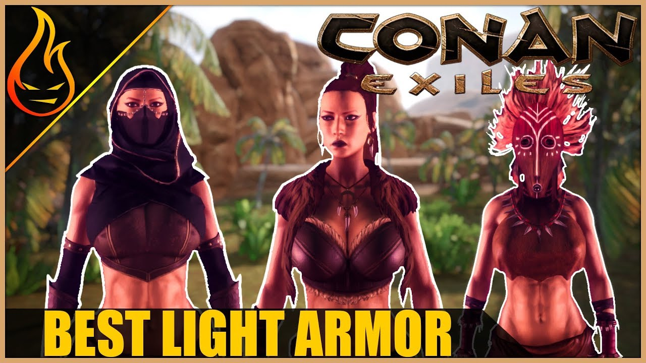 The Best Light Armor In Conan Exiles 2018 Pro Tips