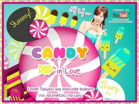★ Candy Pop In Love ★ w/ Lyrics - 川瀨智子 Tommy February6 mp3