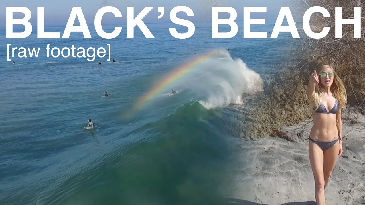 Raw Footage Black S Beach Surfing You