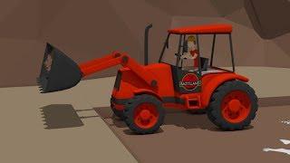 #Excavator and Truck & Dump Truck and Backhoe loader |5 Street Machines | Maszyny Budowlane