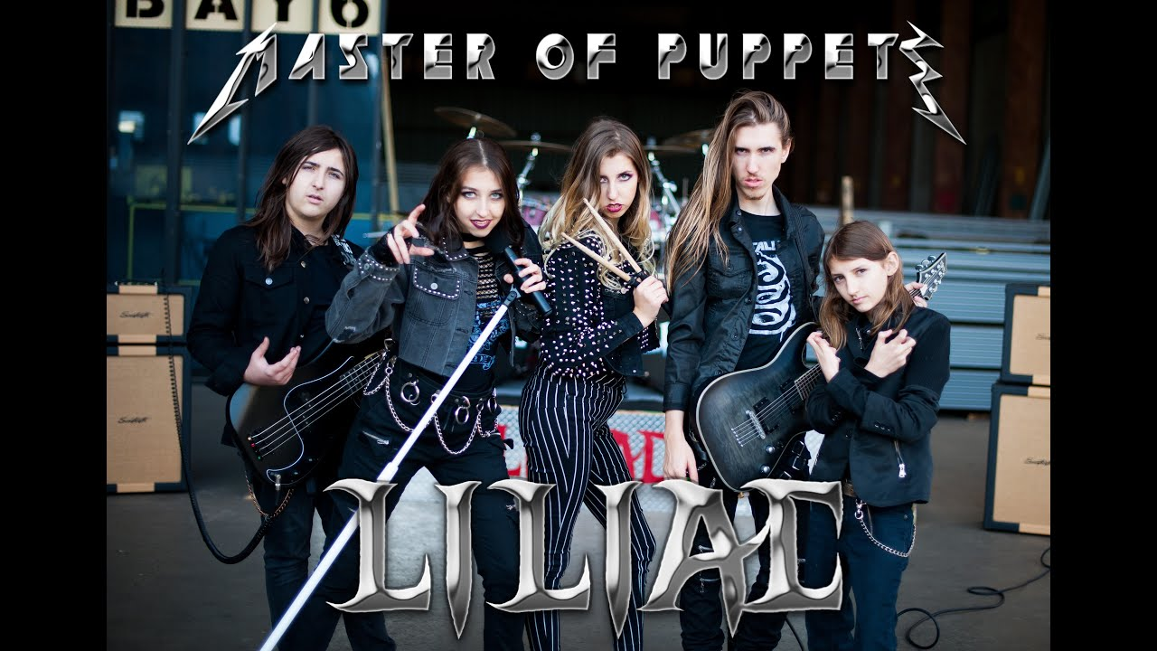 Master of Puppets -  Liliac (Official Cover Music Video)