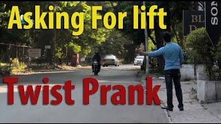 Asking Random People for Lift Prank Twist | Best Funny Indian Pranks (Dekhte Rahoo)