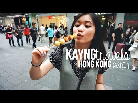 Hong Kong Pt. 1 -- HK French Toast / Milk Tea / Mongkok / Victoria's Peak | KAYNGtravels