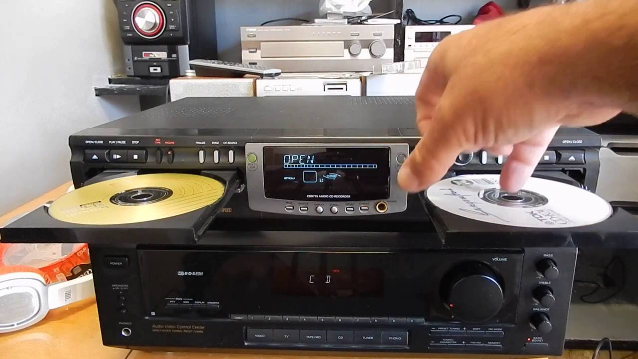 Philips Cdr775 Cd Recorder Player