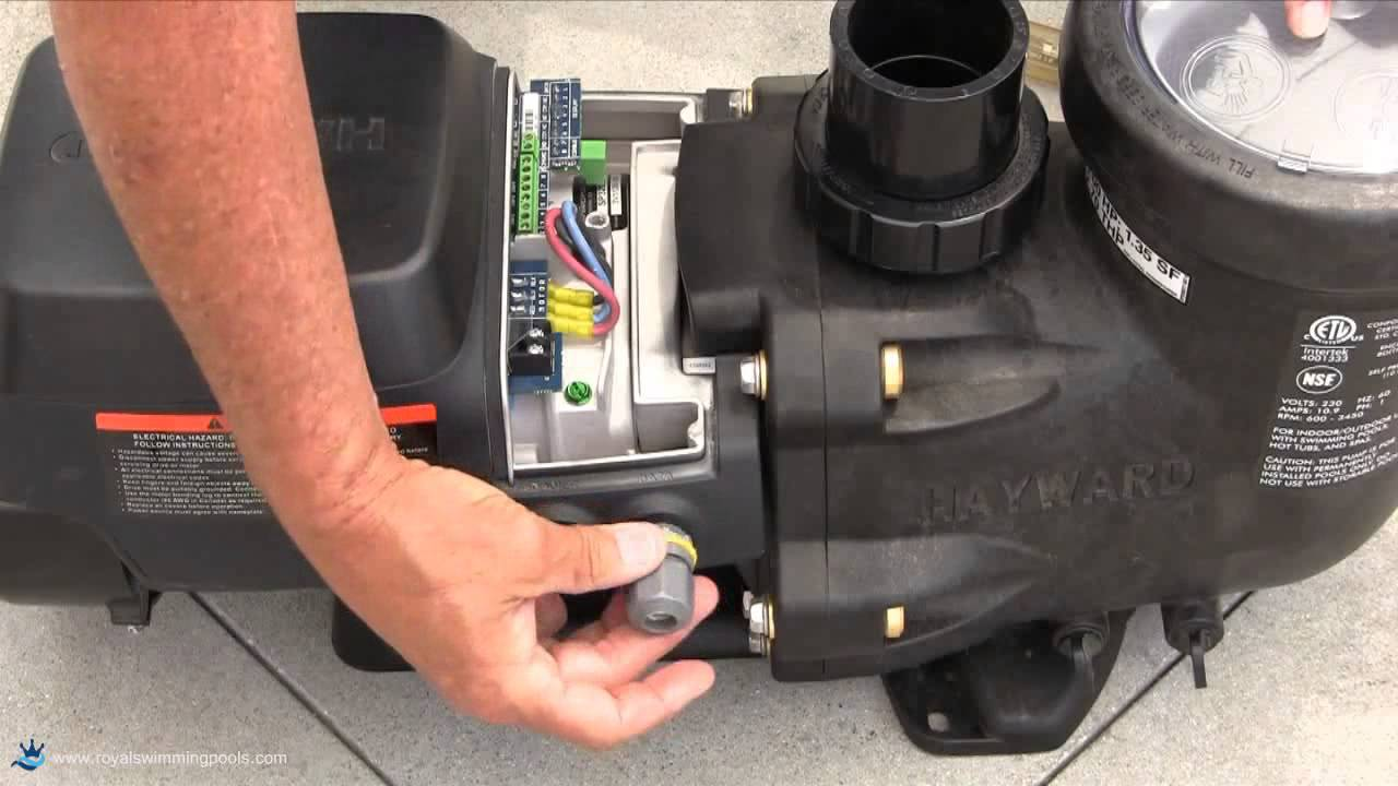 How To Install a Hayward EcoStar Variable Sd Pump Swimming Pool Hayward Pump Capacitor Wiring Diagram on