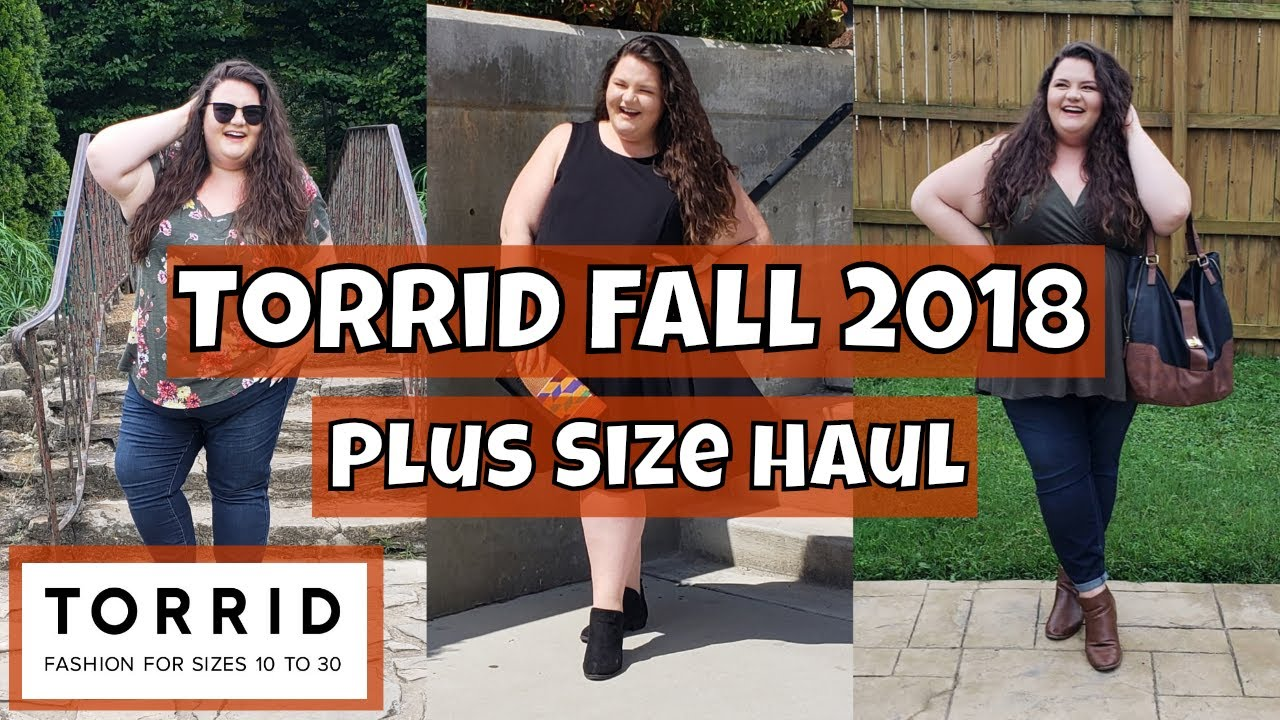 ed65bd7055d TORRID FALL 2018 HAUL - Plus Size Try-on - YouTube