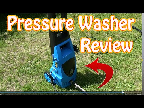 Harbor Freight Pacific Hydrostar Electric Pressure Washer Review Pressure Washer Demo