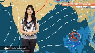 29 अप्रैल मौसम पूर्वानुमान: उत्तर प्रदेश, बिहार में बारिश; महाराष्ट्र, मध्य प्रदेश में गर्म मौसम