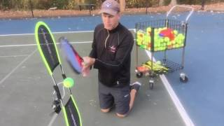 Want Topspin Like Rafa Nadal  Watch the Topspin Pro in Action!