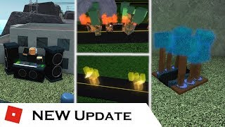 The NEW Update : DJ Tower, Design Upgrades, and more! | Tower Battles [ROBLOX]