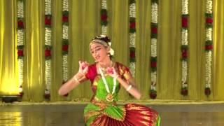 Bharathanatyam dance (Madu Meikum Kanne) By Lakshmi Thiagarajan