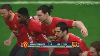 Manchester United Vs Hull City | Penalty Shootout | PES 2017 Gameplay