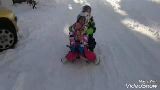 Winter SNOW FUN with kindergarten KIDS