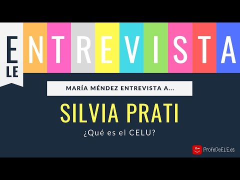 Entrevista sobre el CELU con Silvia Prati