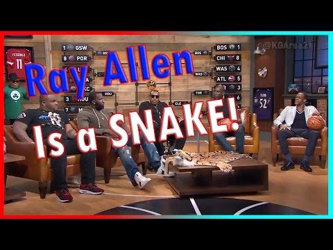 Area 21 -Rondo (Disloyalty) -Pierce (No Tony Allen) -Perkins (Ray Allen is Fake) Break of Big 3