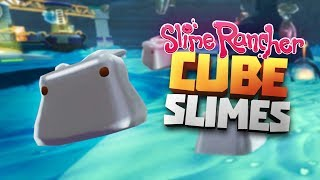 AWESOME CUBE QUICKSILVER SLIMES! - Modded Slime Rancher (Reupload) - Glass Dessert Cube Slimes