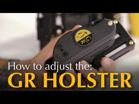 Pistol GR Holster - How to adjust (Manual in english)