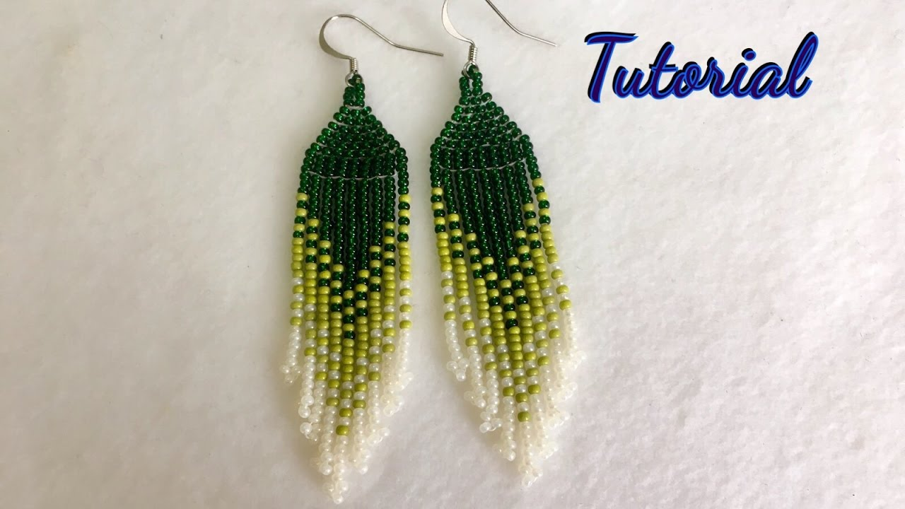 How To Make Native American Style Earrings Tutorial