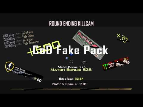 CoD FAKE PACK WITH PATCHES! DL Link