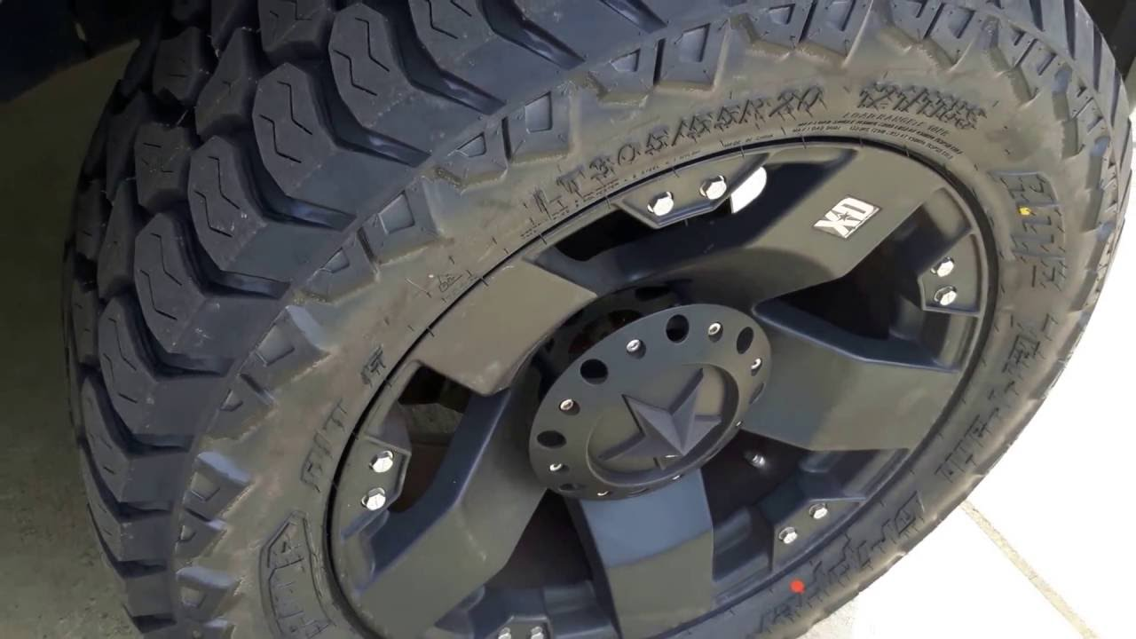 AMP All-terrain Gripper Tire Review - YouTube
