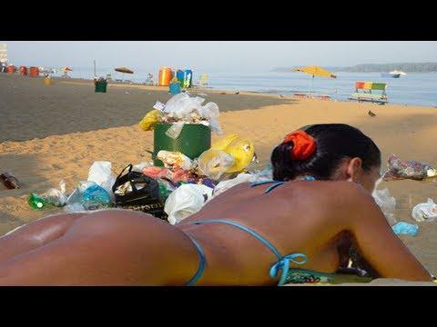 TRASHY BALI BEACH