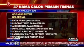 47 Nama Calon Pemain Timnas Untuk Piala AFF 2016
