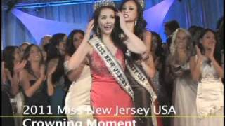 Miss New Jersey USA 2011Crowning Moments