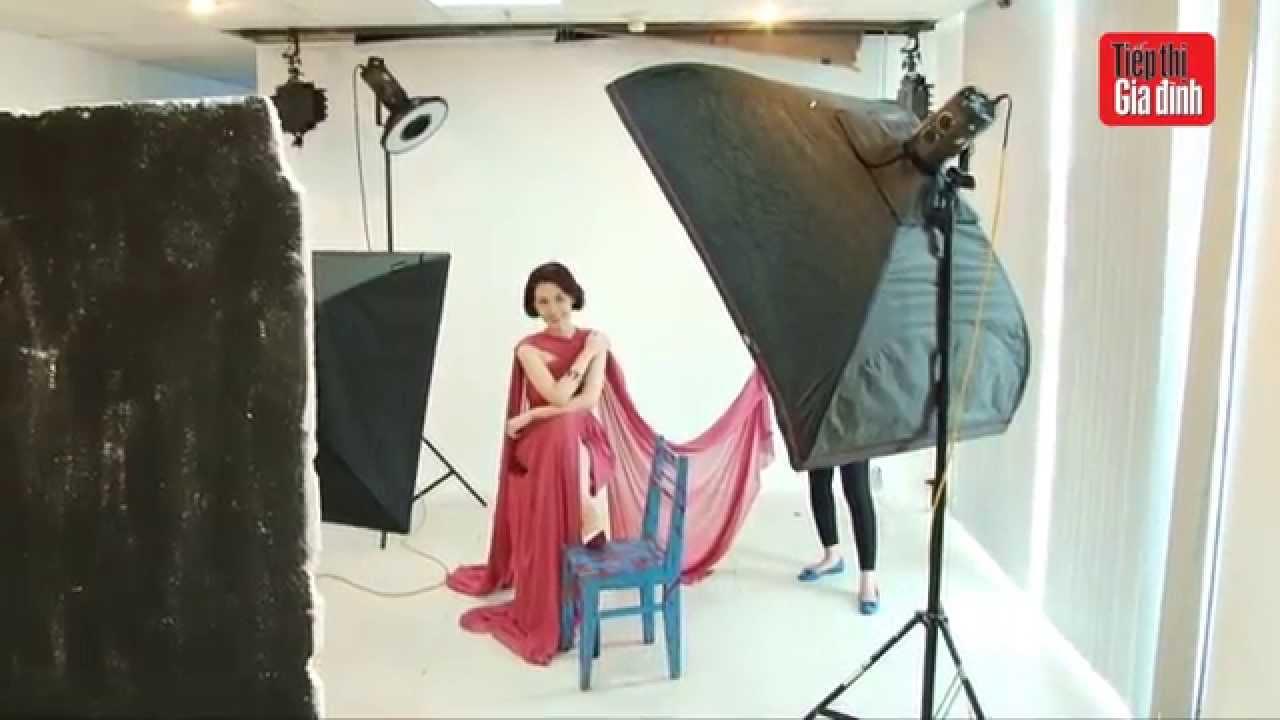 Hậu trường chụp ảnh bìa Quỳnh Chi – TTGĐ 29/2015