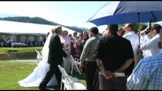 Mt. Shasta Wedding Video Ceremony