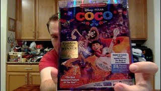 Unboxing: Coco Blu-Ray/DVD/Digital Combo Pack