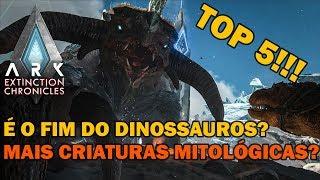 TOP 5 CRIATURAS MITOLÓGICAS A SEREM ADICIONADAS NO ARK EXTINCTION!