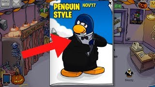 Club Penguin Rewritten November 2017 Clothing Catalog Cheats!