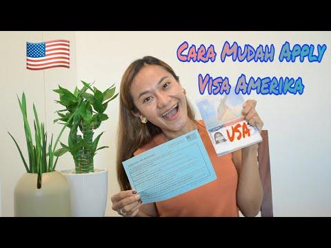 US Visa Part 1 | Cara Mudah Mengajukan VISA AMERIKA Di Indonesia & Singapura | How Get A USA Visa