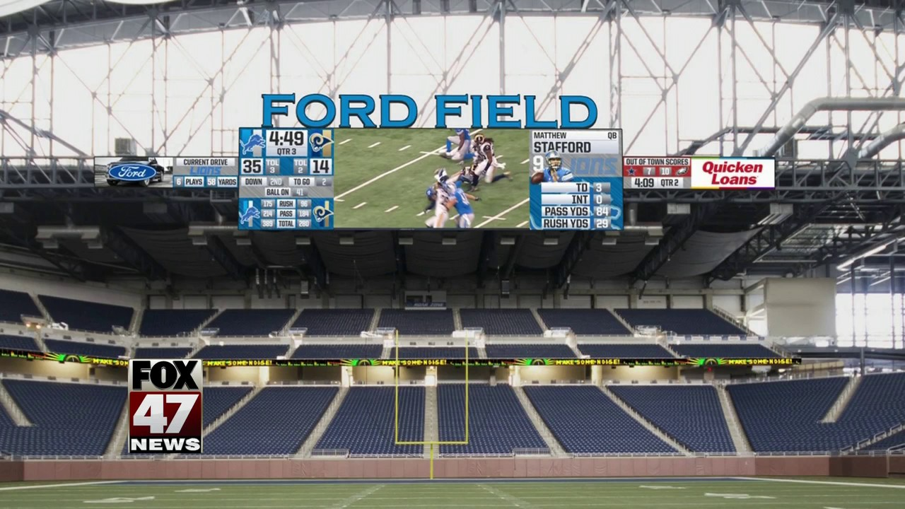 Detroit Lions Announce 100 Million Renovation For Ford