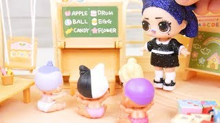 lol-surprise-dolls-back-to-school-family-video-with-goldie-winter-disco