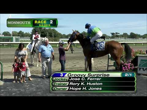 video thumbnail for MONMOUTH PARK 9-8-19 RACE 2