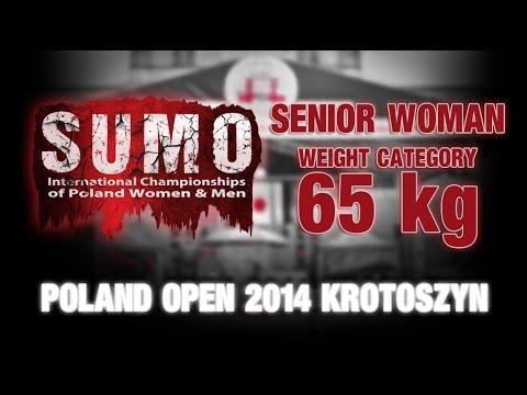 POLAND OPEN SUMO 2014 - Senior Woman - 65kg