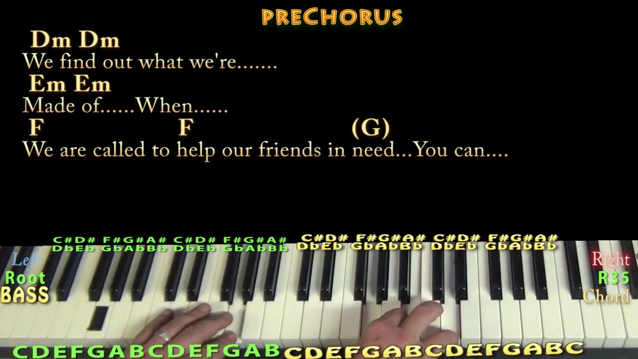Count on me bruno mars piano cover lesson in c with chords count on me bruno mars piano cover lesson in c with chordslyrics hexwebz Image collections