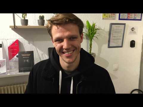 David, élève comédien au Studio Muller