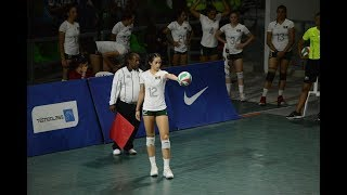 Samantha Bricio (Mexico) vs Cuba, Puerto Rico (2018 Central American and Caribbean Games)