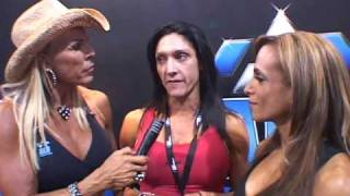 ALR Olympia Expo interview Adela Garcia and Tracey Greenwood