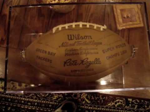 1966 NFL WORLD CHAMPS FOOTBALL