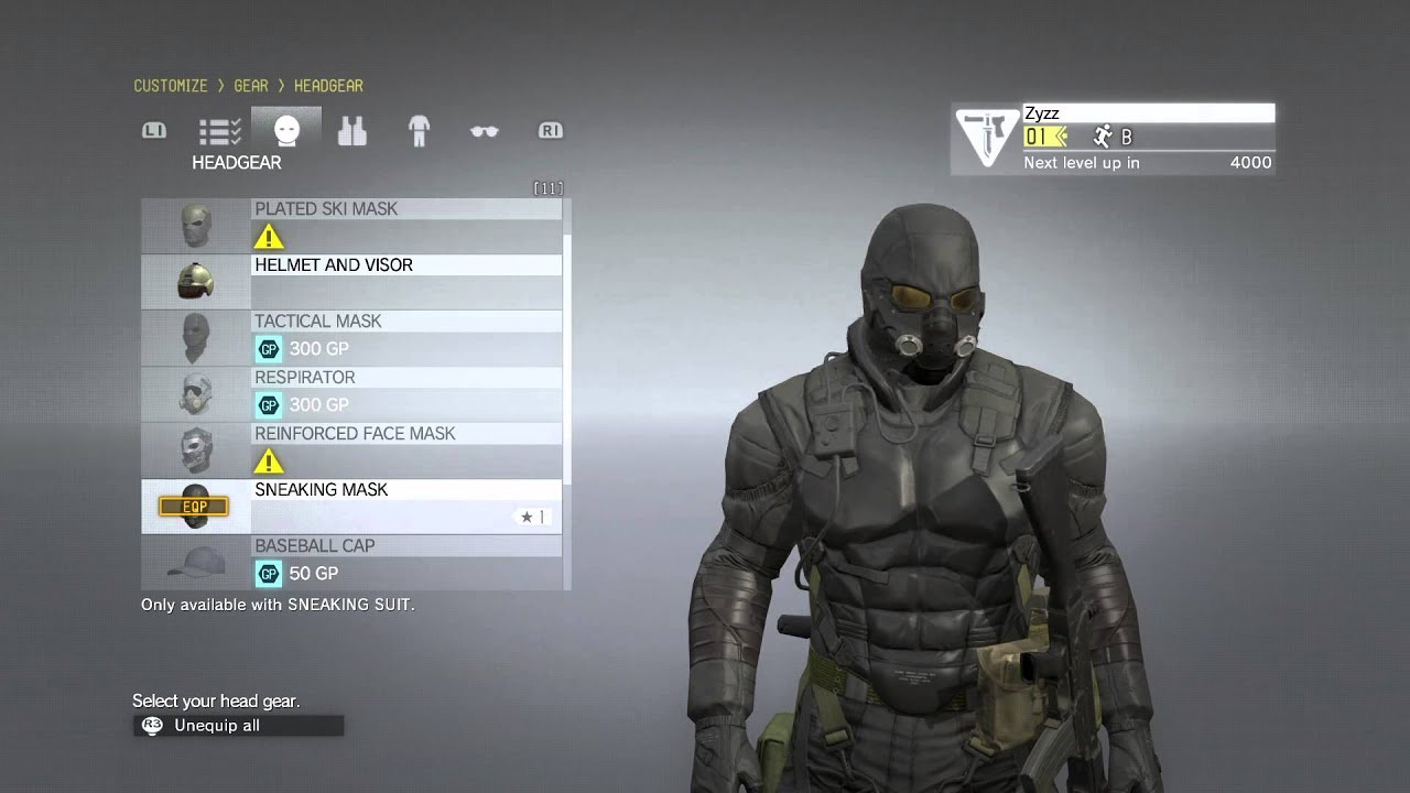 mgs4 suit