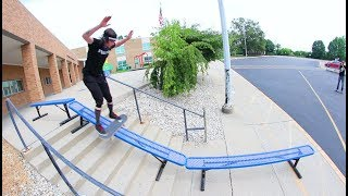 This Skater HAS NO FEAR! ( Skates The Biggest Stuff!)