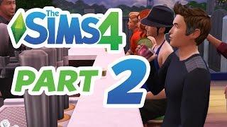 The Sims 4 Gameplay Walkthrough Part 2 - CAREER & NIGHT LIFE