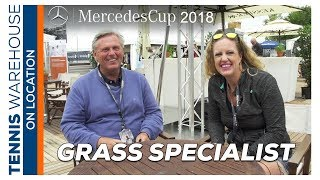 TW at Mercedes Cup: Behind the Scenes with the Grass Court Specialist