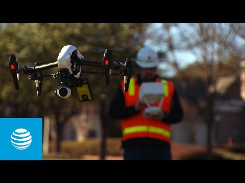 Drones – Mapping Coverage in the Sky | AT&T