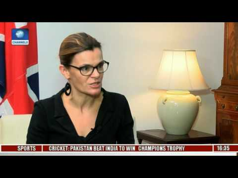 View From The Top Host UK Deputy High Commissioner To Nigeria 'Laure Beaufils' Pt. 1
